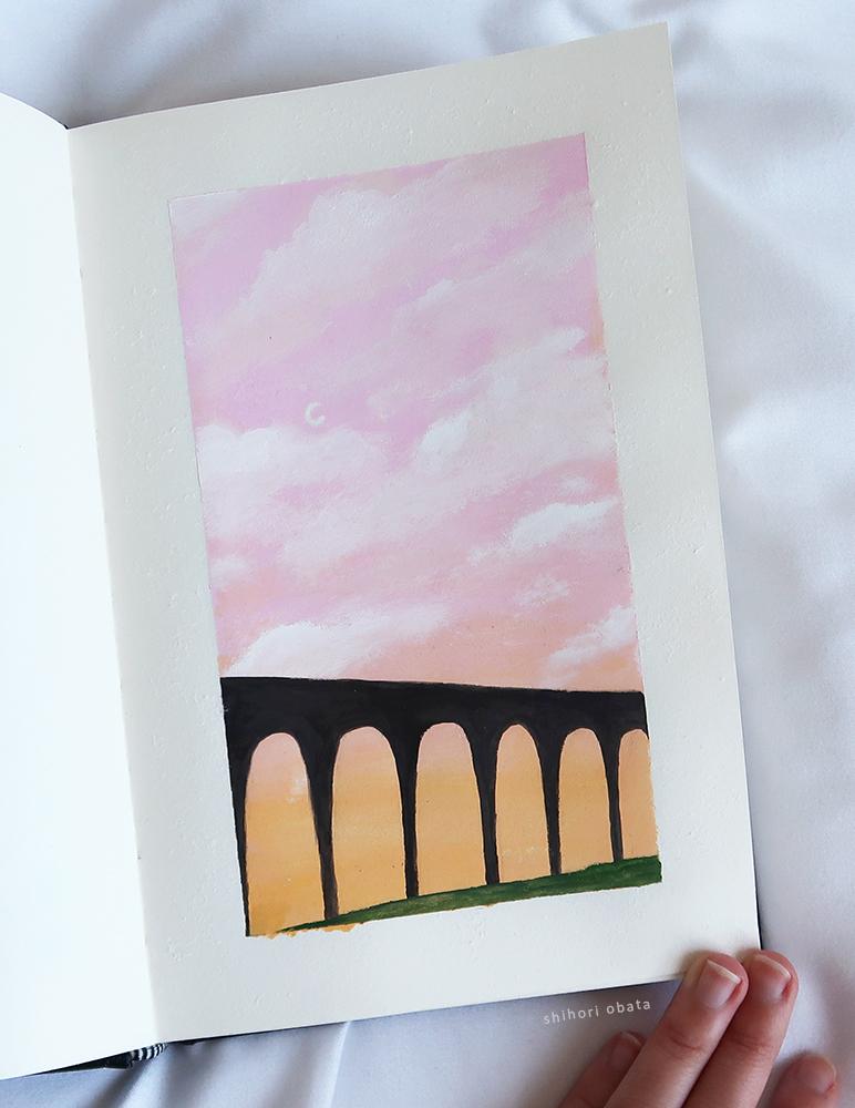 easy things to paint bridge