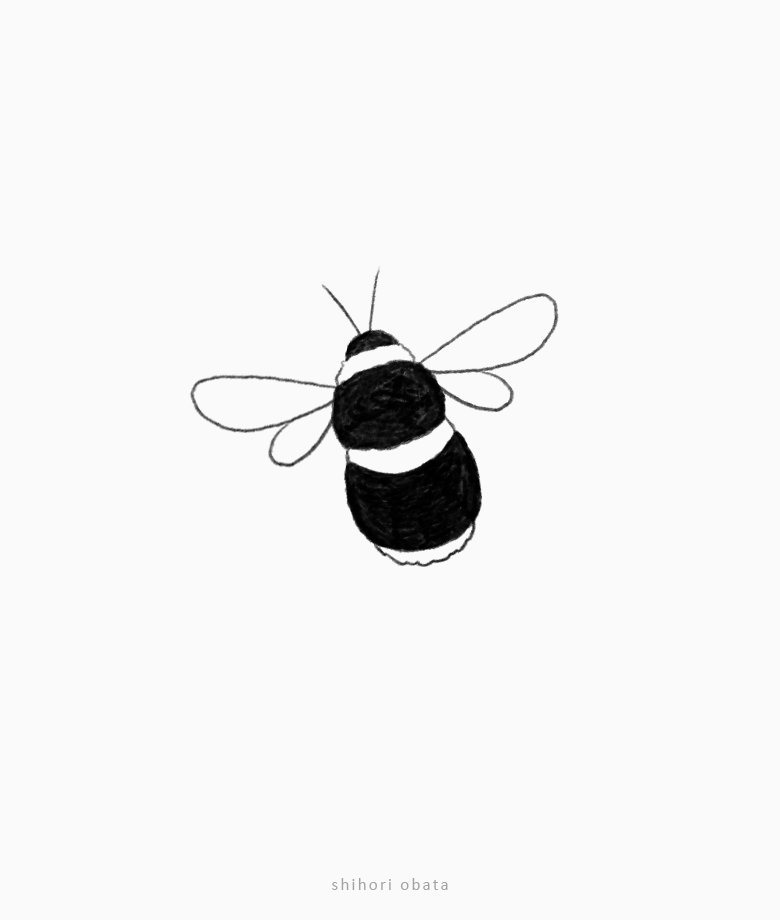 easy bumblebee drawing bee