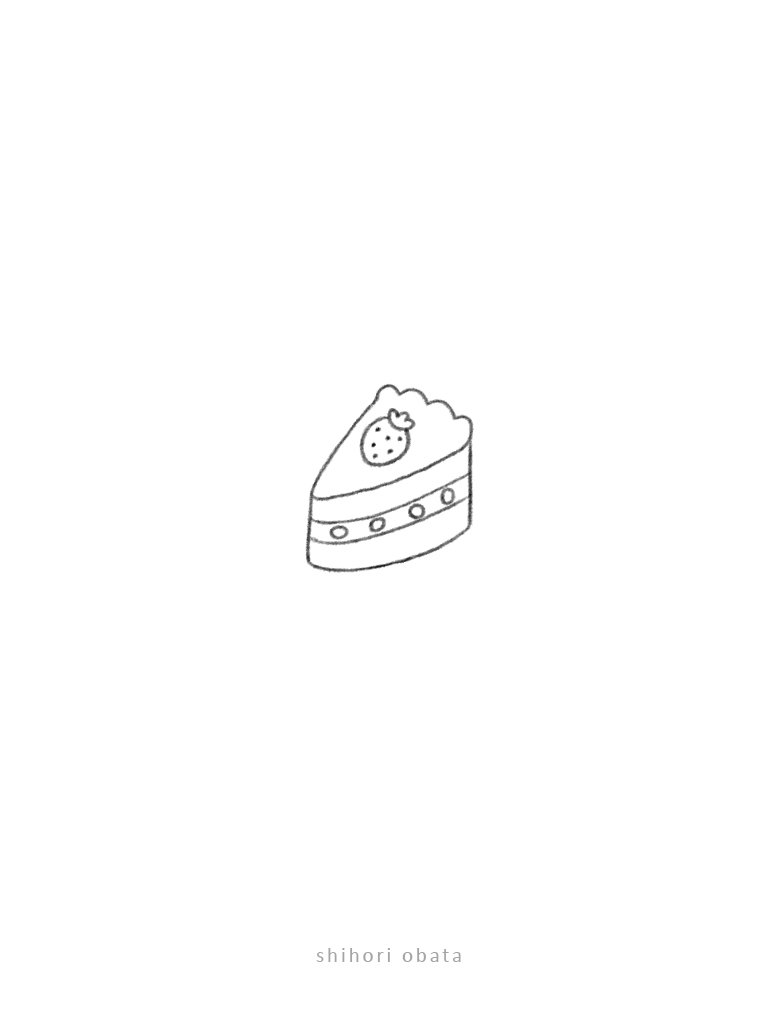 cute easy doodle cake