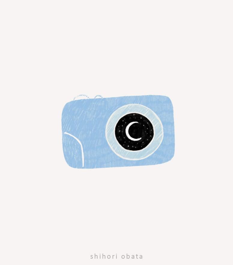 easy cute camera drawing