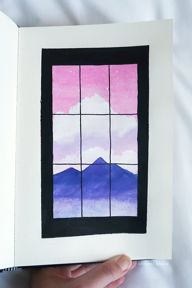 window easy things to paint