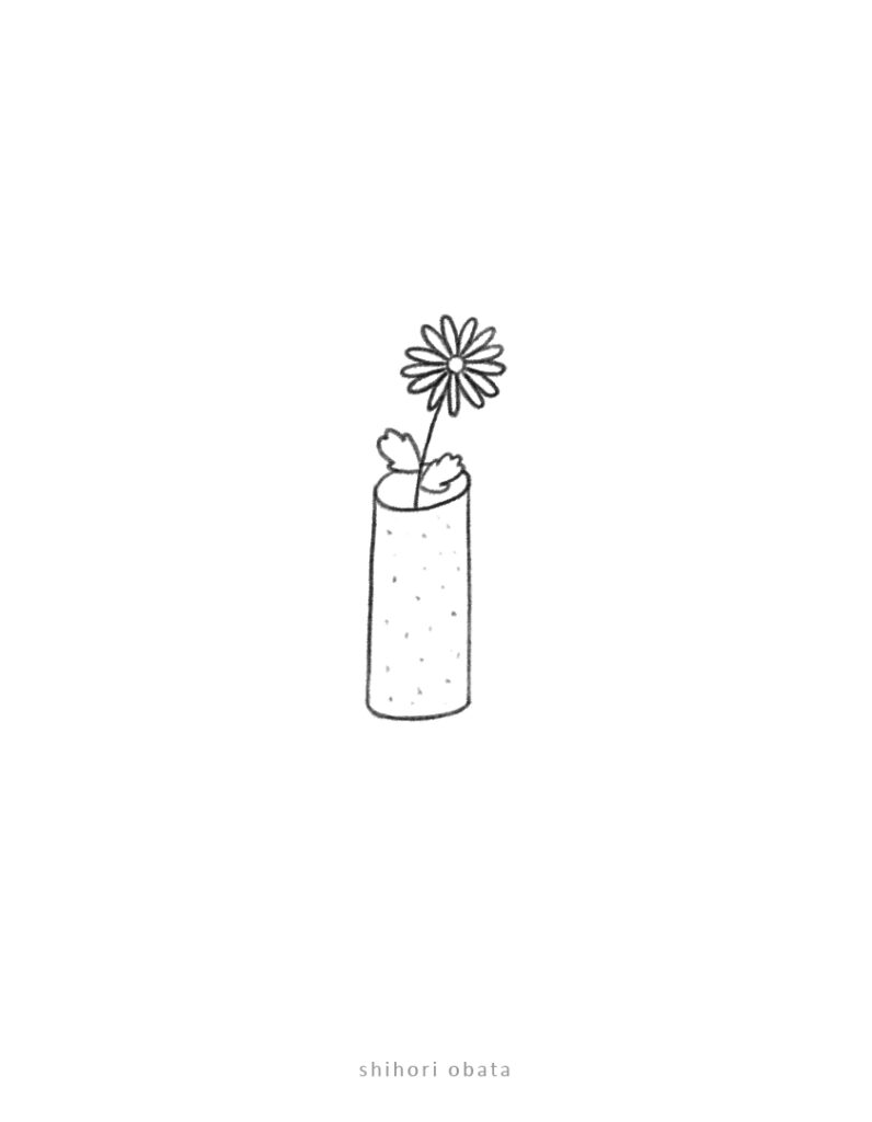 flower easy doodle drawing