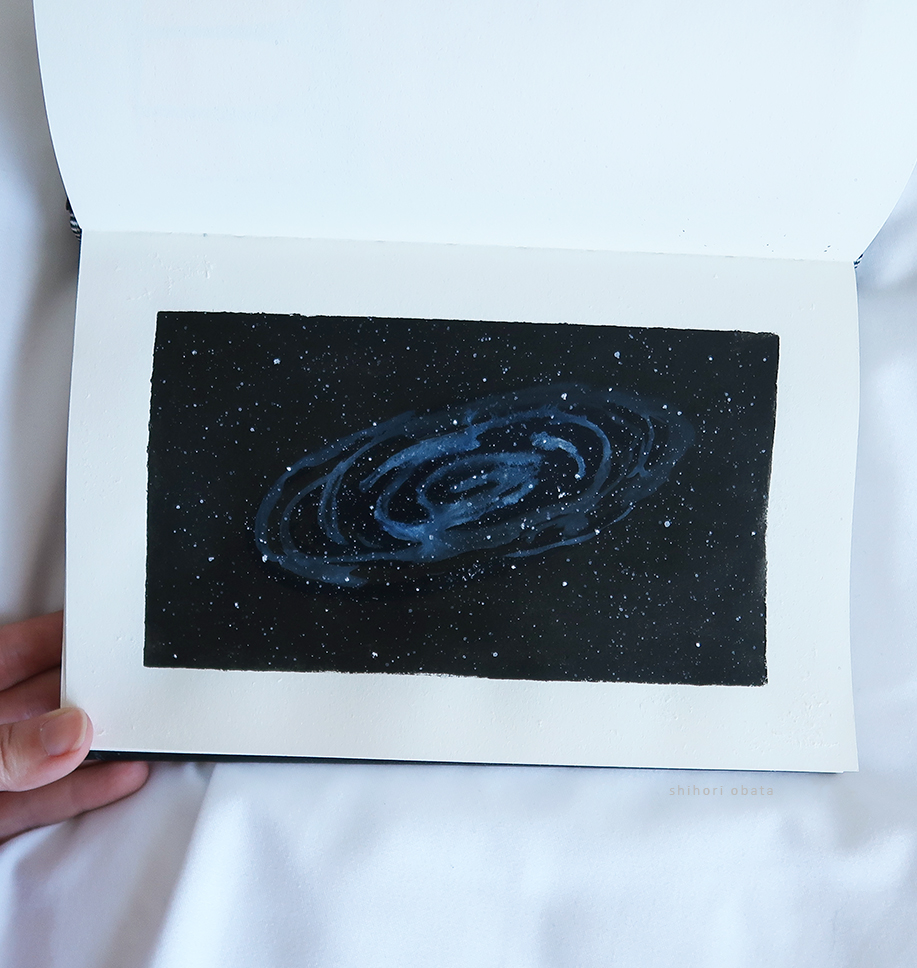 easy things to paint galaxy space