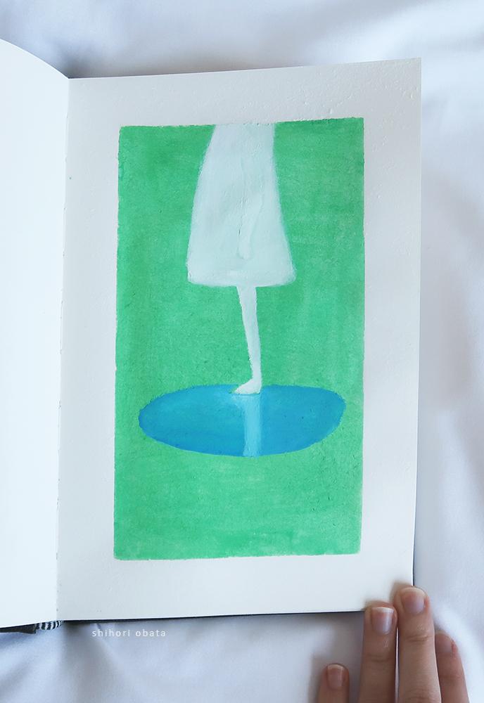 easy gouache painting ideas