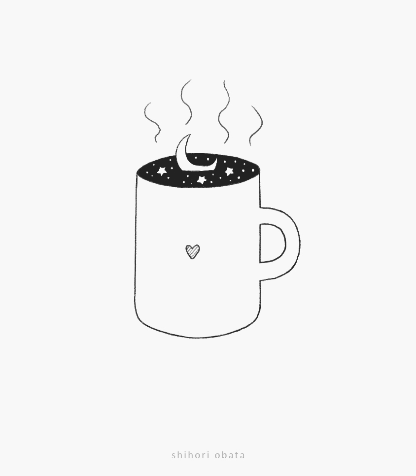 mug drawing idea