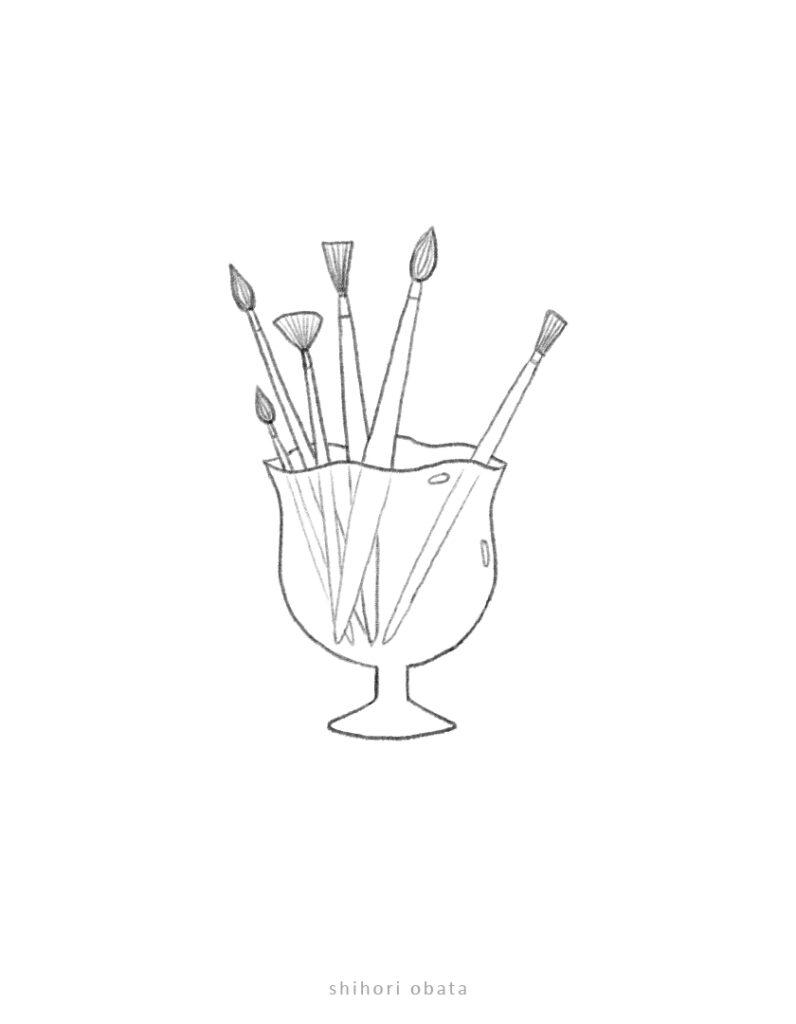paint brush drawing