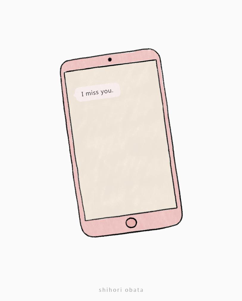 easy phone drawing idea