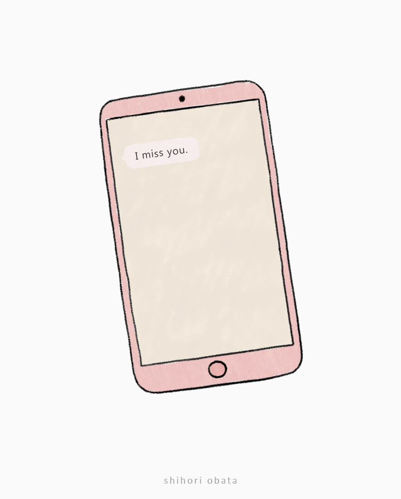 easy phone drawing idea