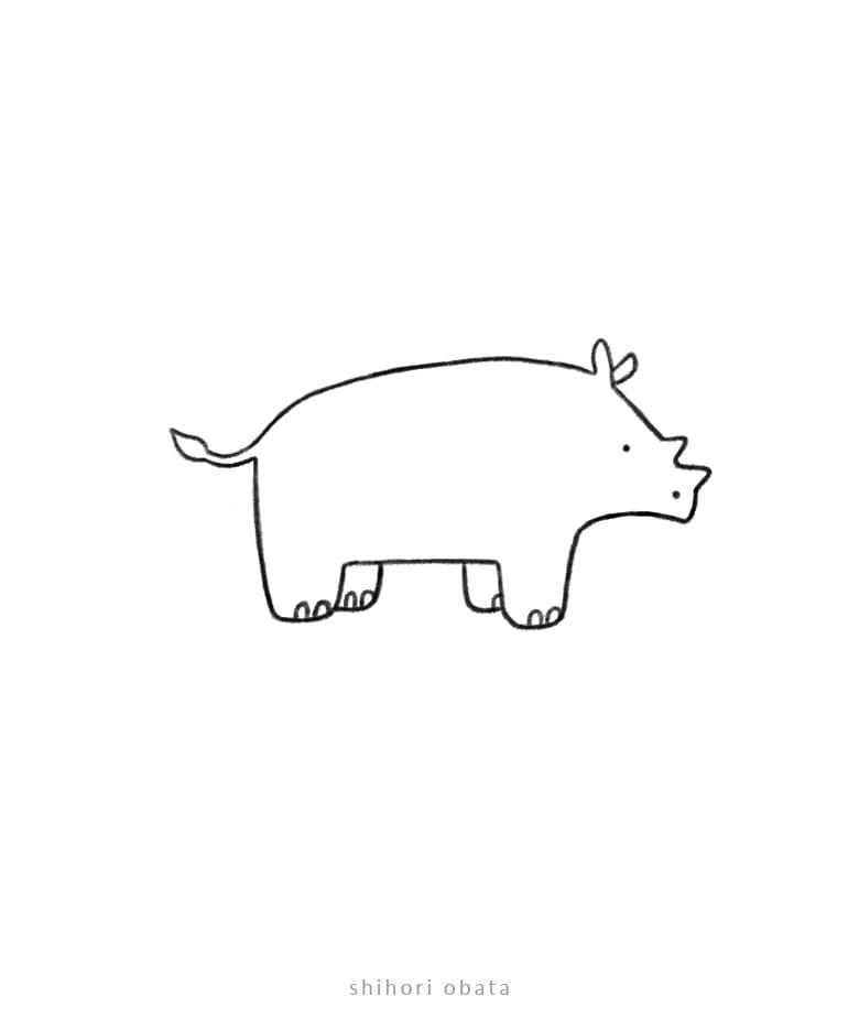 rhino drawing easy
