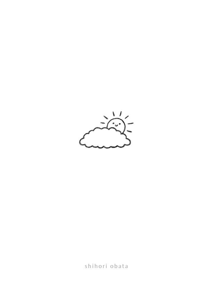 sun doodle drawing easy