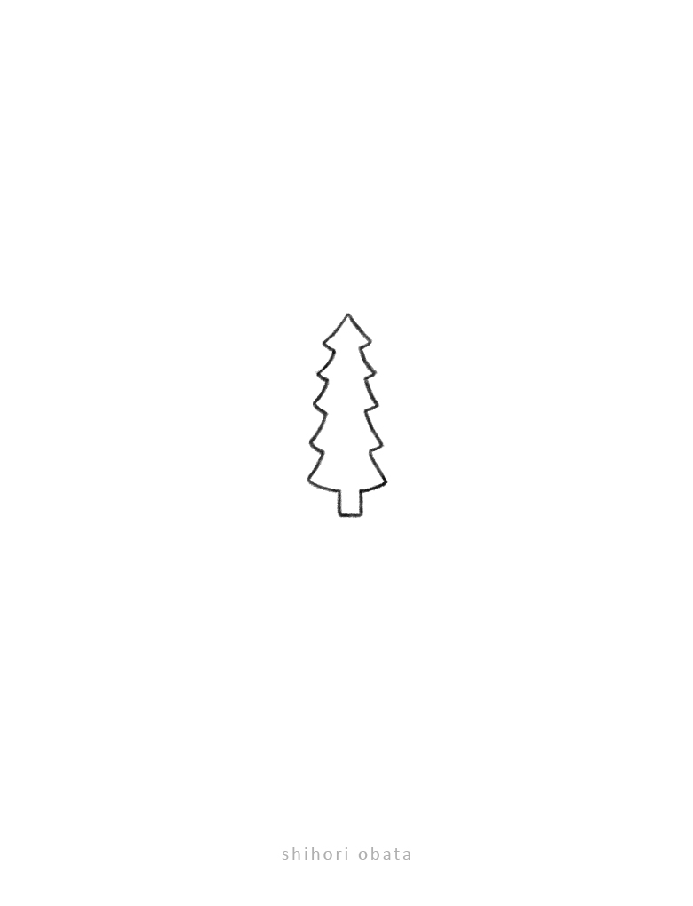 easy tree doodle