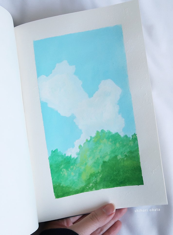 easy things to paint treetop