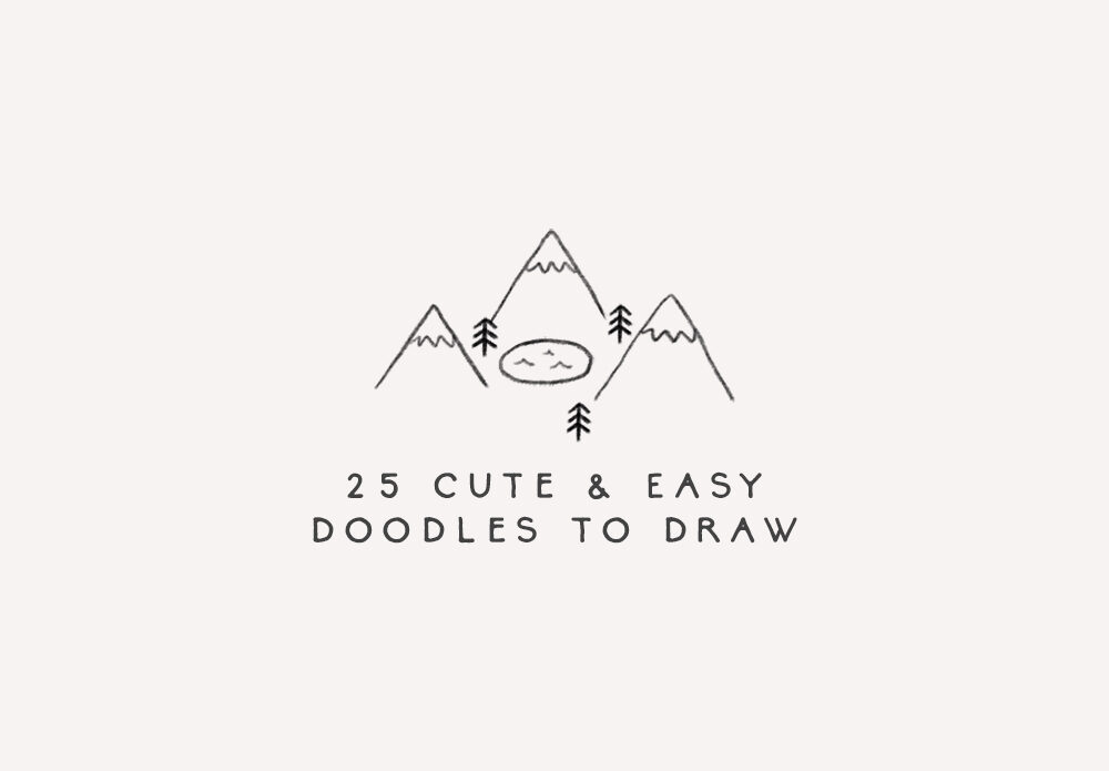 cute and easy doodles to draw