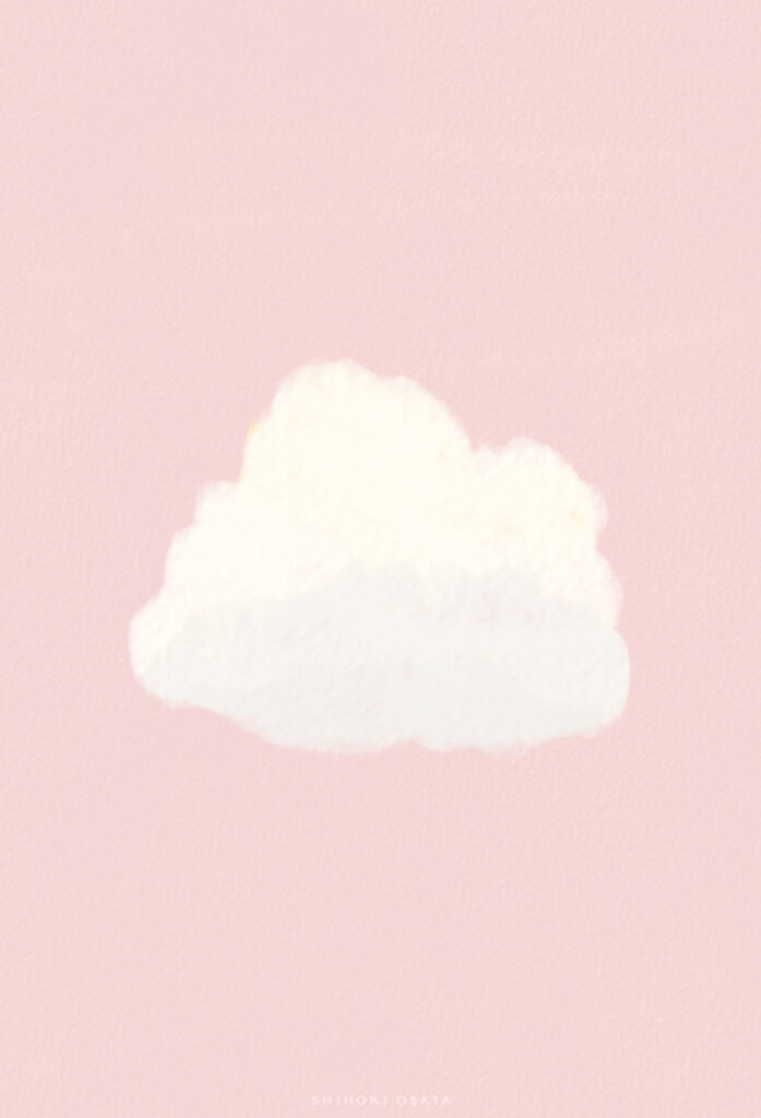 cloud drawing simple digital illustration