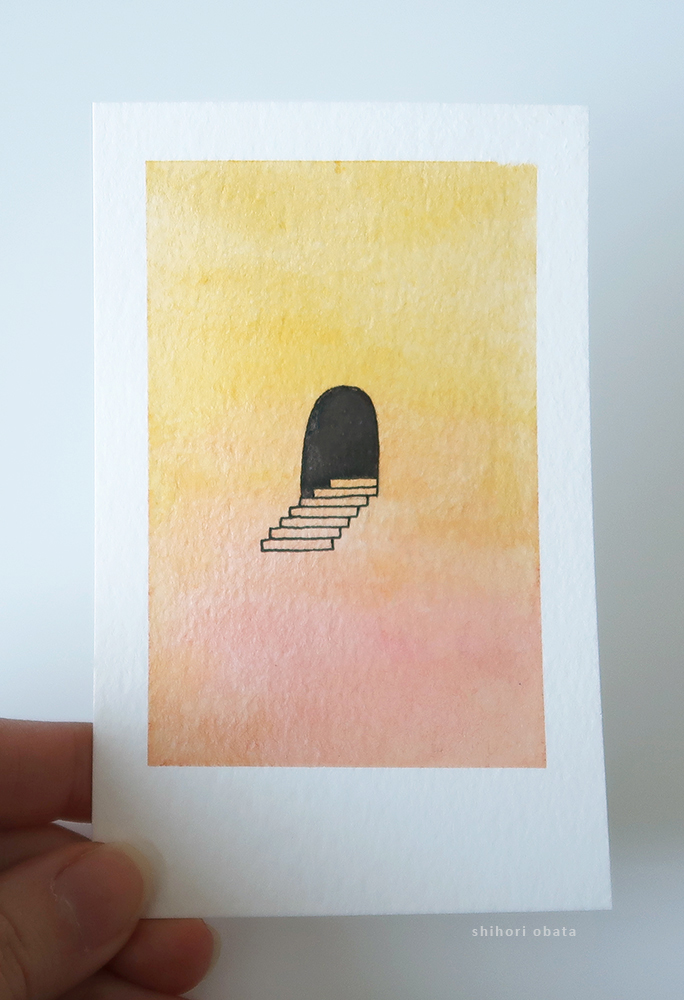 easy simple watercolor painting