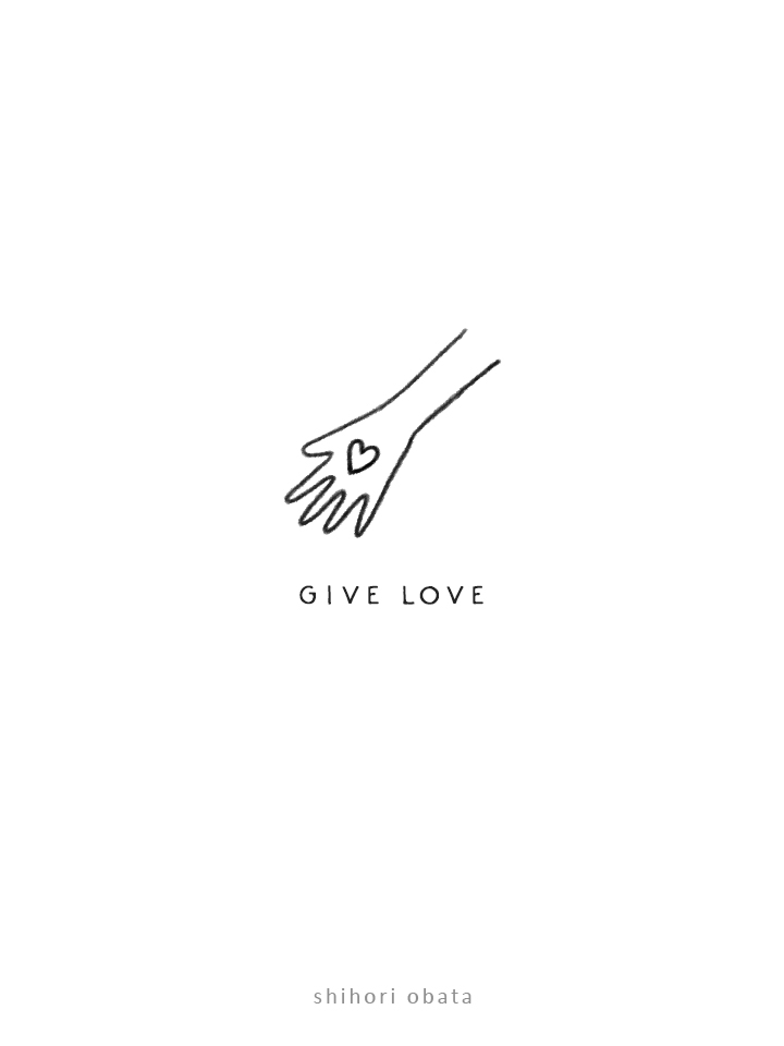 give love drawing