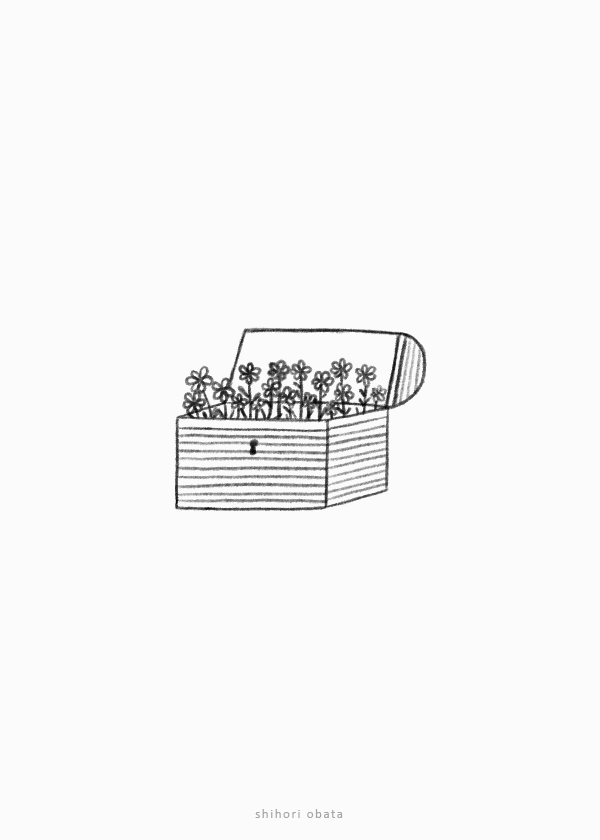 treasure chest drawing easy simple