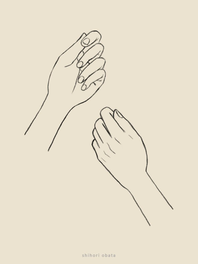 how to draw hands anime