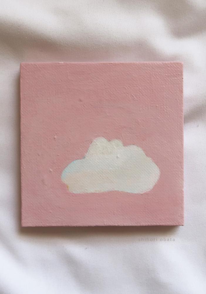 easy simple cloud painting