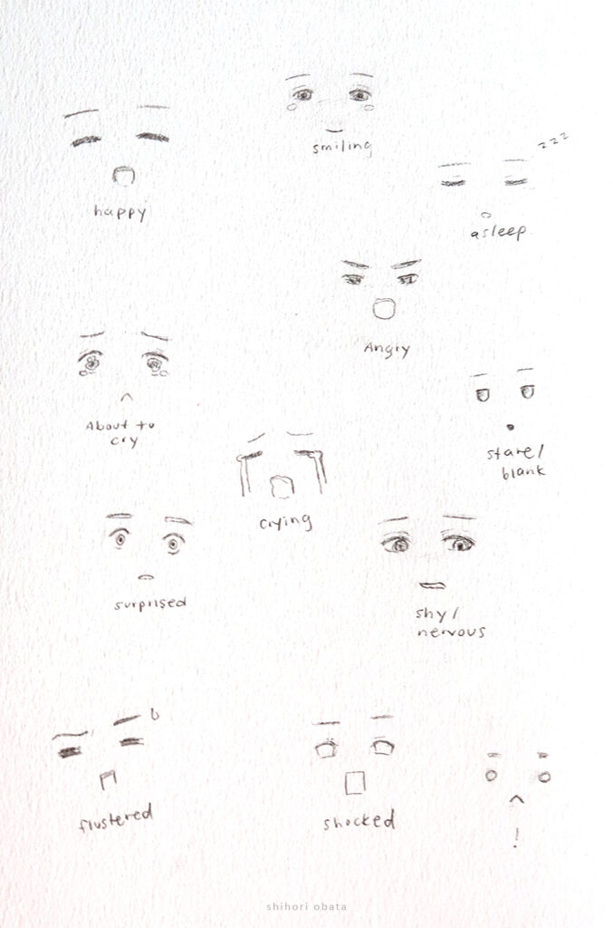 how to draw feelings