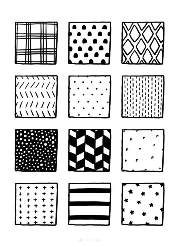 patterns textures to draw