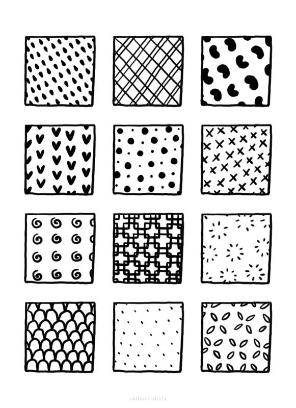patterns to draw zentangle