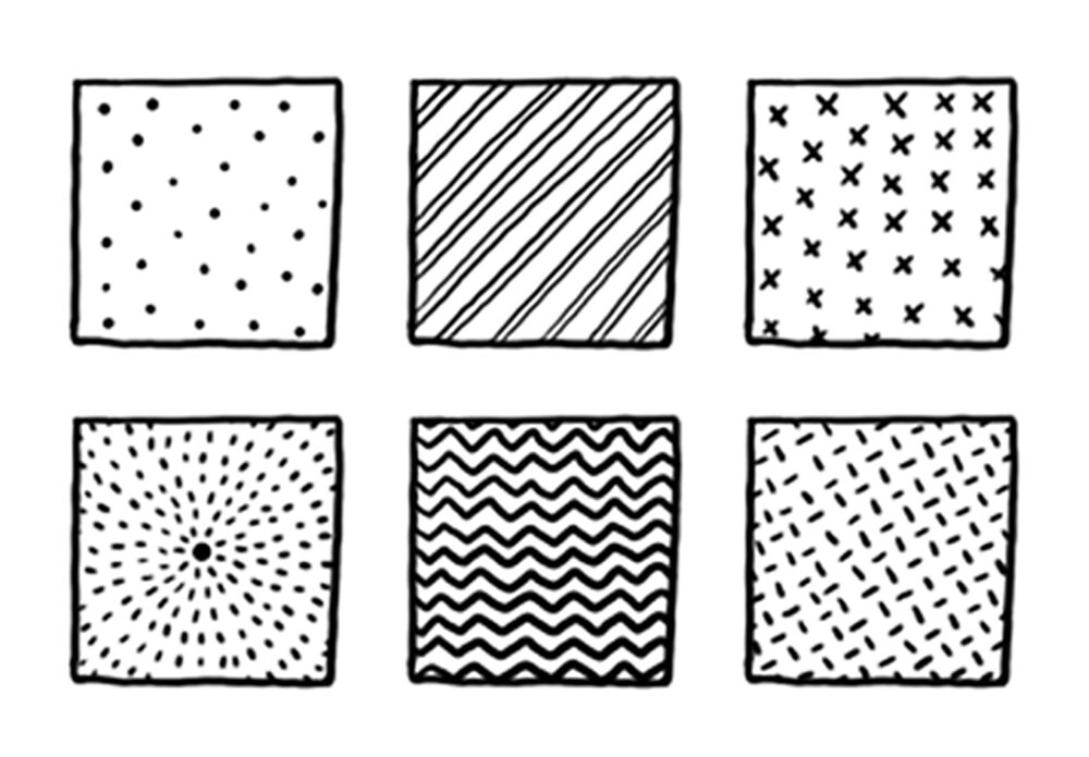 easy patterns to draw