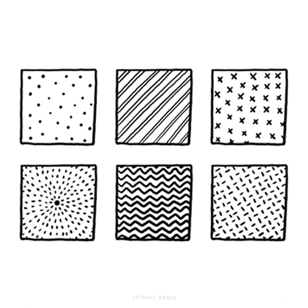 20+ Fun, Easy Patterns to Draw