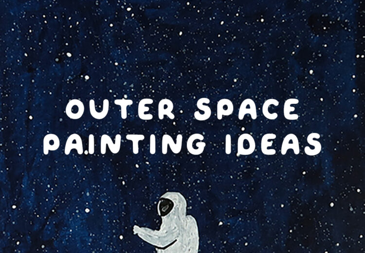 outer space painting ideas