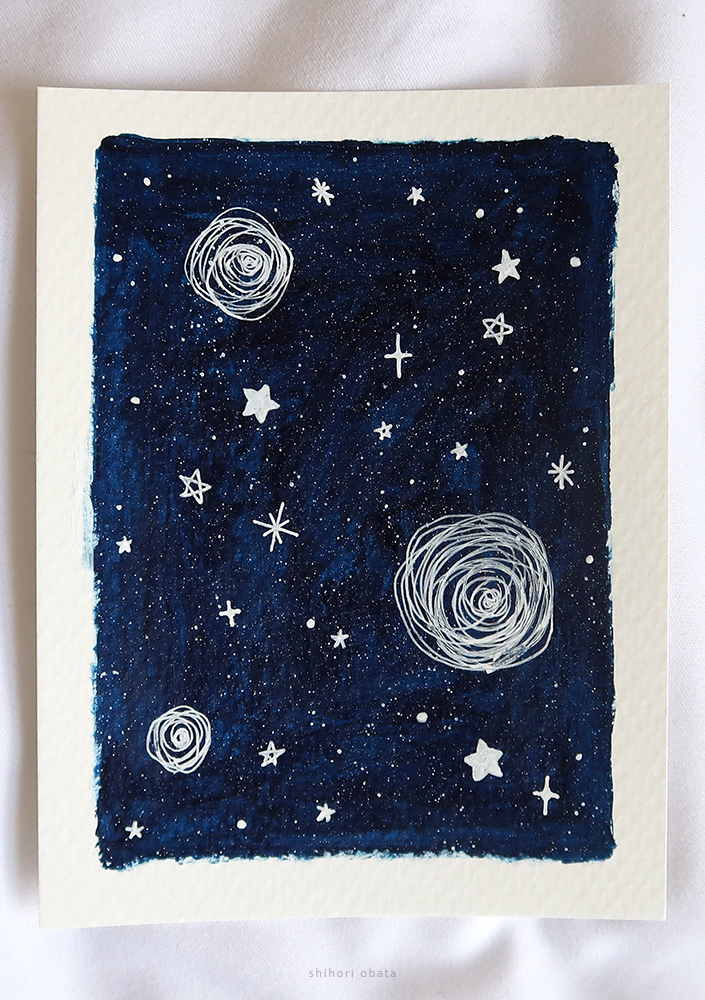 stars easy painting