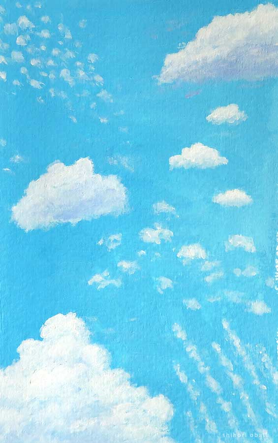 types of clouds to paint
