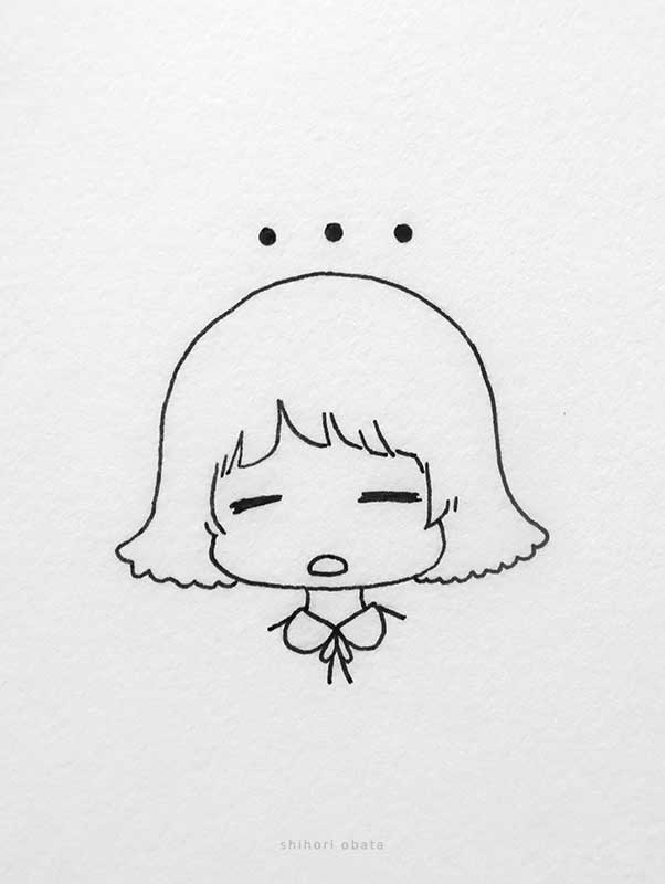 facial expressions anime girl