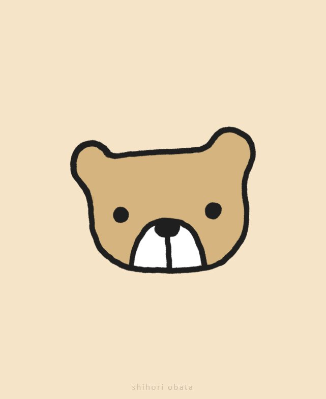 cute easy bear drawing