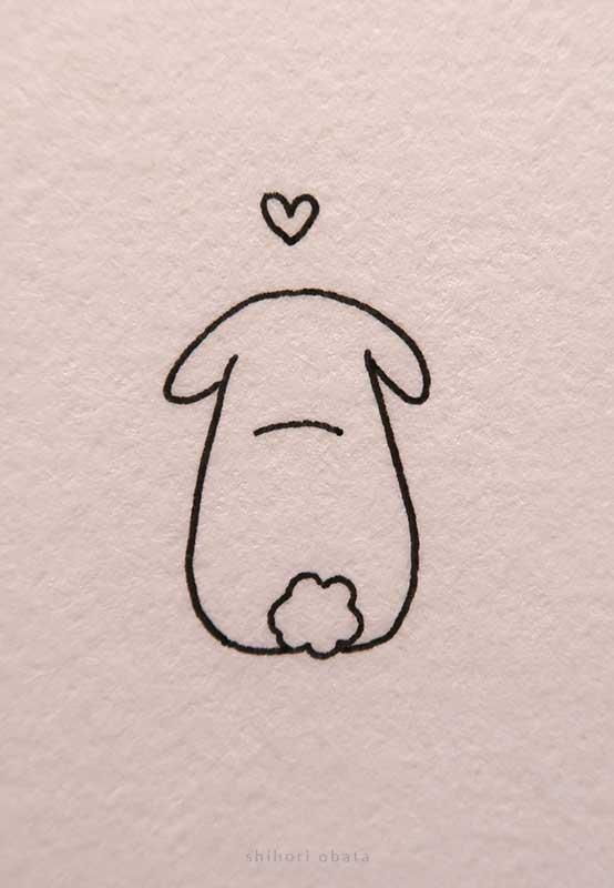 rabbit bunny drawing easy