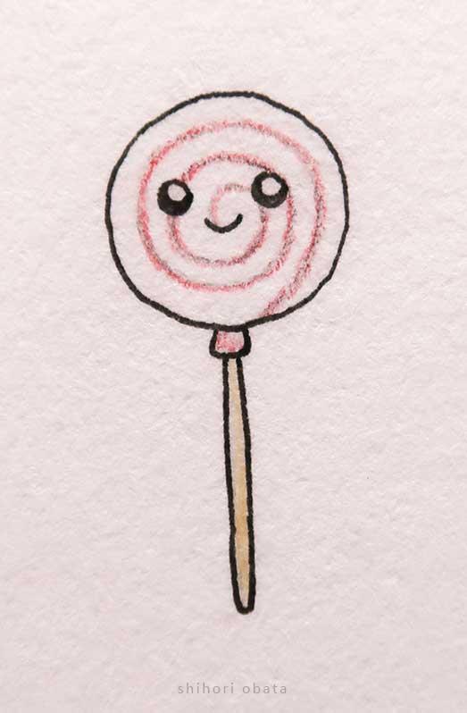 lollipop drawing